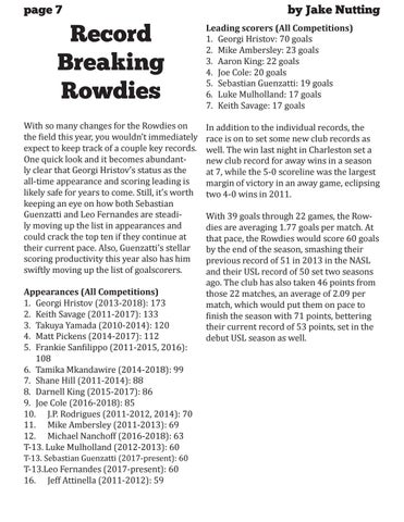 Page 8 of Record Breaking Rowdies
