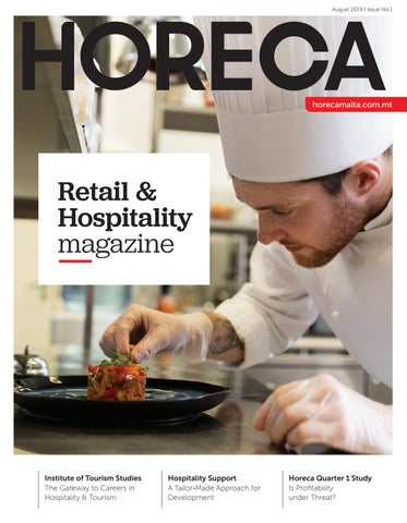 "Cover of ""HORECA Magazine - Issue 01"""