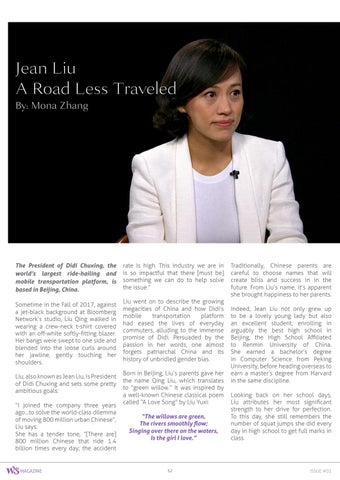 Page 32 of Jean Liu - A Road Less Traveled