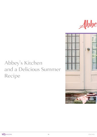 Page 38 of Abbey's Kitchen and a Delicious Summer Recipe