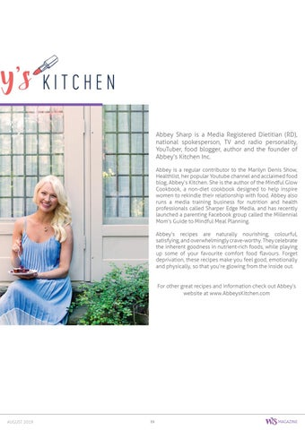 Page 39 of Abbey's Kitchen and a Delicious Summer Recipe