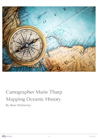 Page 8 of Cartographer Marie Tharp, Mapping Oceanic History