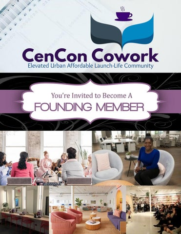 Page 1 of CenCon Cowork Member Invitation
