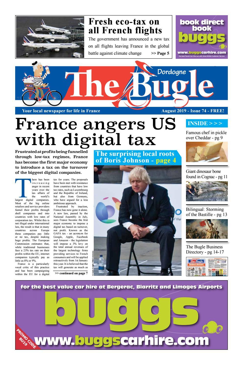 The Bugle Dordogne Aug 2019 By The Bugle Issuu