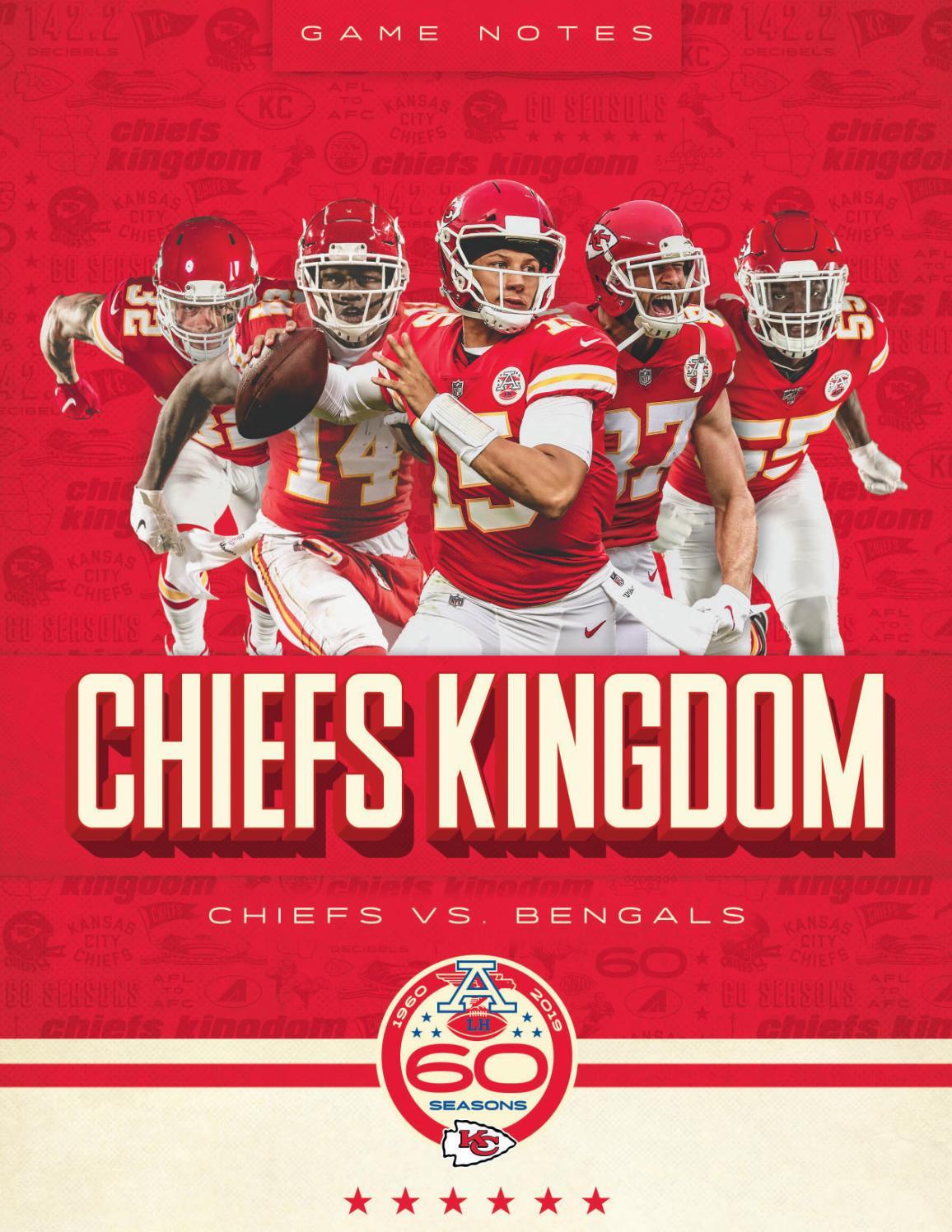 Preseason Game 1 Chiefs Vs Bengals 8 10 19 By Kansas City Chiefs Issuu