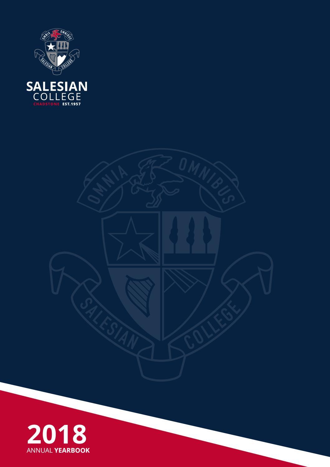 2018 Yearbook by SalesianCollegeChadstone - issuu