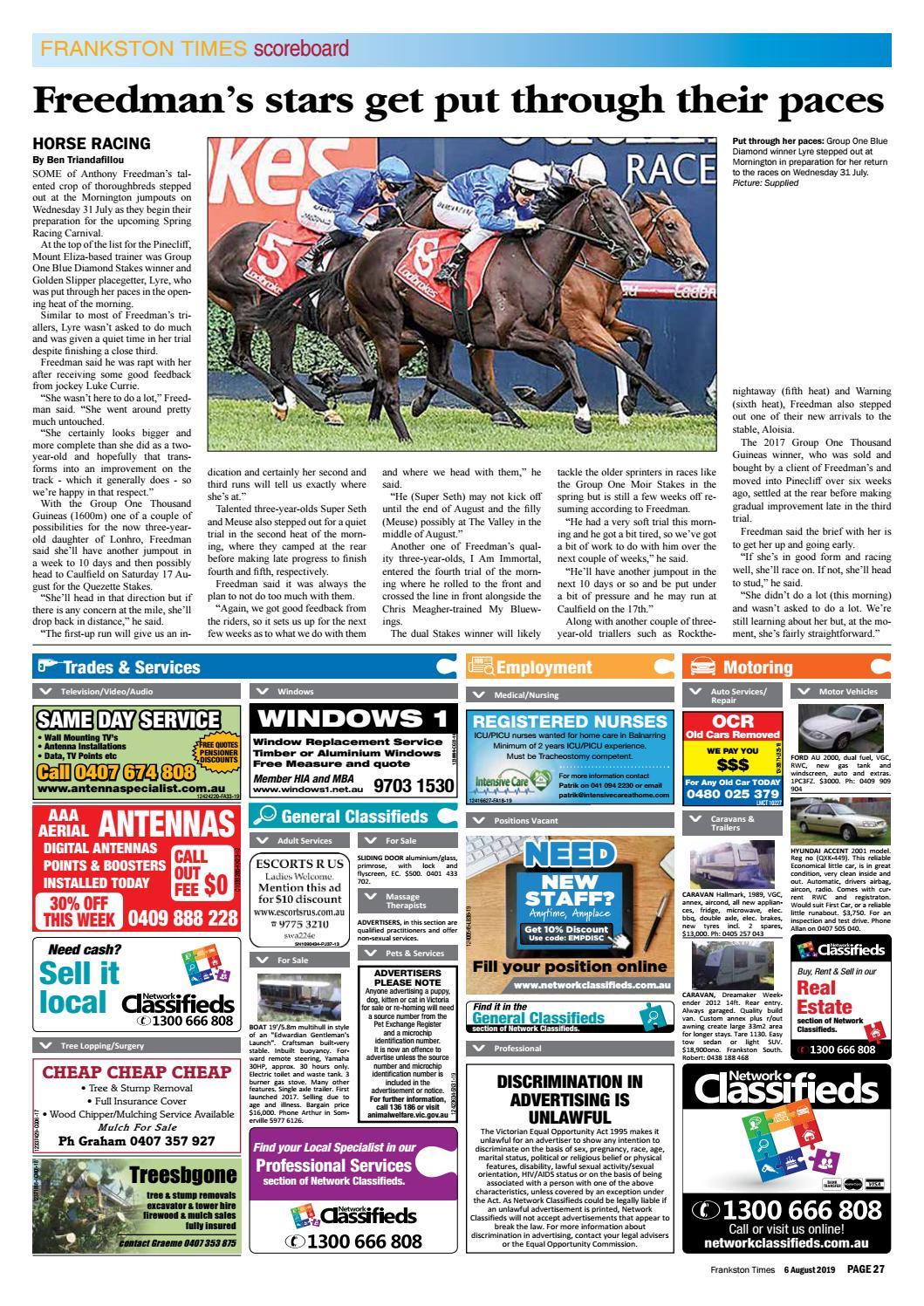 6 August 2019 by Mornington Peninsula News Group - issuu