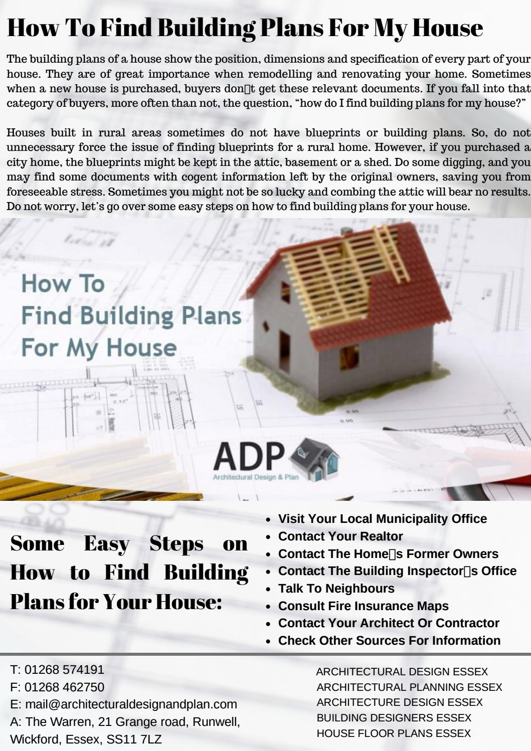 How To Find Building Plans For My House By Architecturaldesign63 Issuu