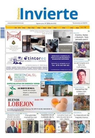 324 Agosto 2019 by Periódicos Invierte Palencia issuu
