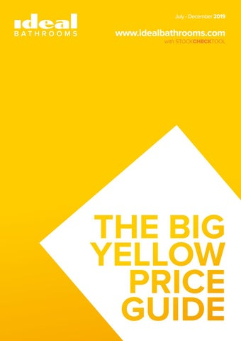 Big Yellow Price Guide by Ideal Bathrooms - issuu