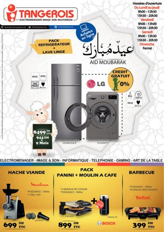 Catalogue Tangerois Aid Adha au 31 aout 2019