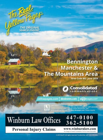 Manchester 2019-2020 White Pages by Moore County Telephone