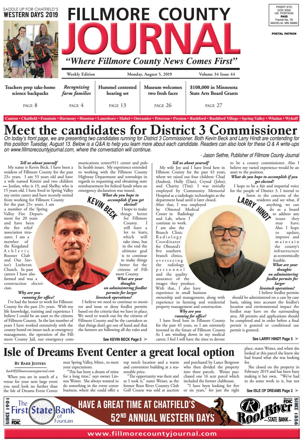 mpls office workers battle for best holiday cubicle.htm fillmore county journal 8 5 19 by jason sethre issuu  fillmore county journal 8 5 19 by