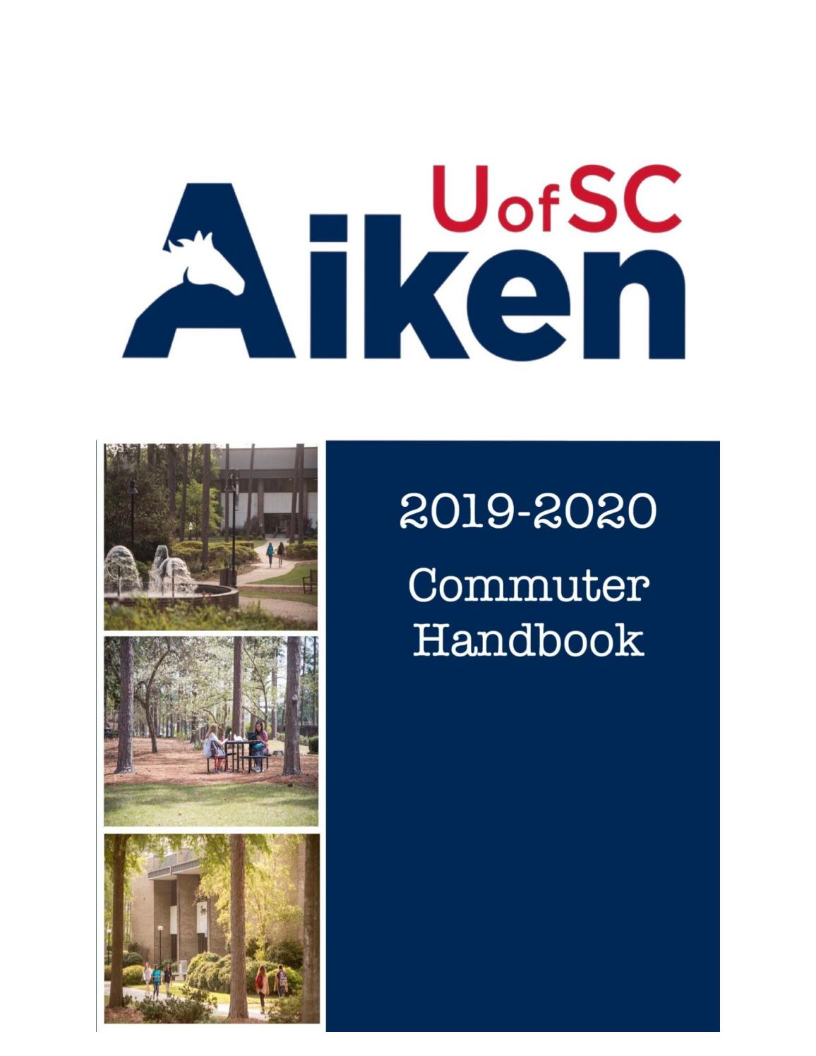 Usc Fall Semester 2020.2019 2020 Guide For Commuter Students By Usc Aiken Issuu