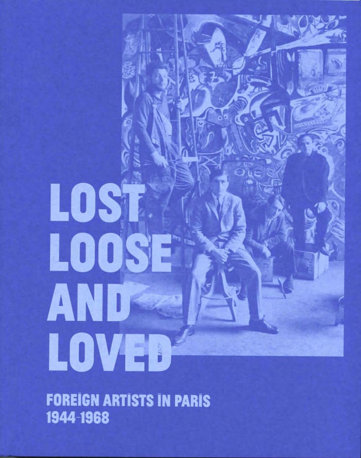 Peinture Murale Bleu Klein lost, loose and loved: foreign artists in paris 1944-1968