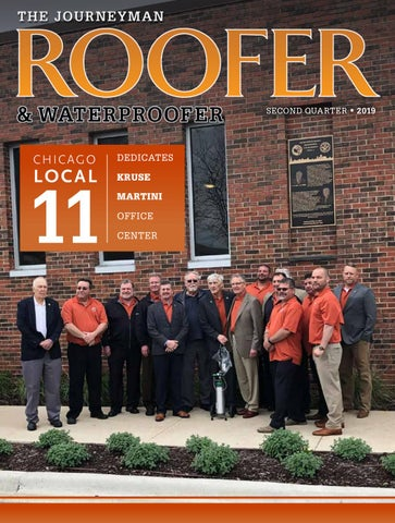 The Journeyman Roofer Waterproofer 2nd Qtr 2019 By Roofersunion Issuu