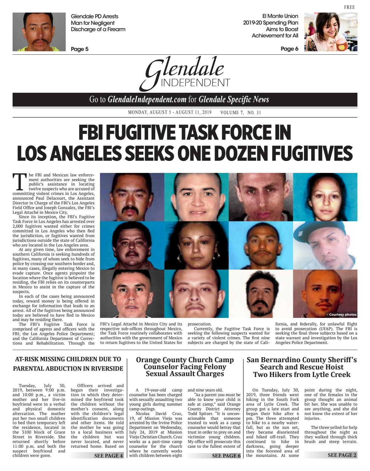 Glendale Independent - 08/05/2019 by Beacon Media News - issuu