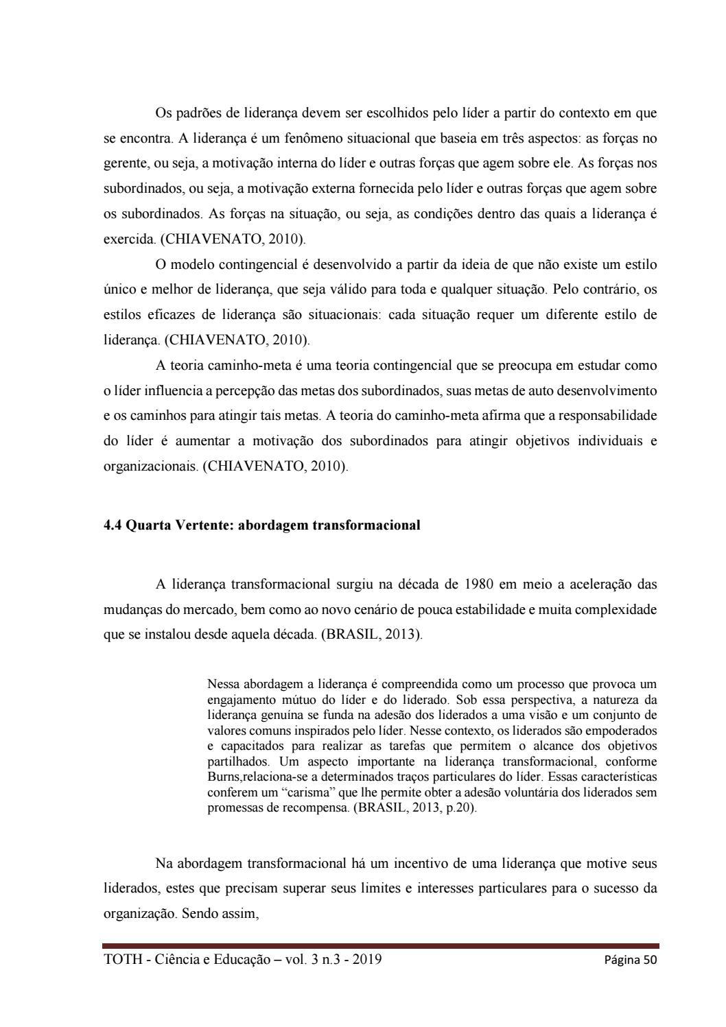 Toth Ciência Educação V 3 N 3 2019 By Toth Ciência E
