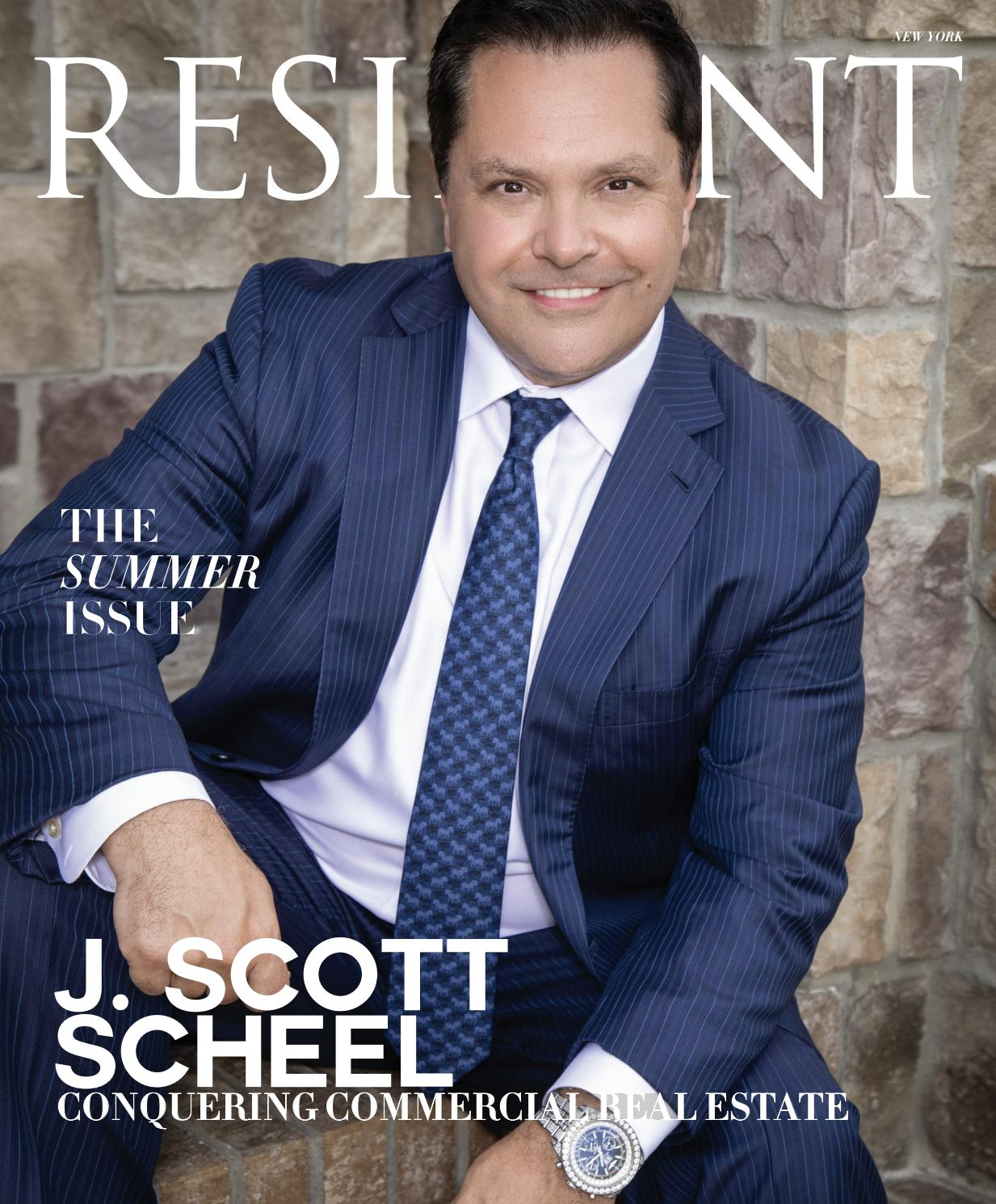 Resident Magazine NY AUGUST 2019_J  SCOTT SCHEEL by Resident