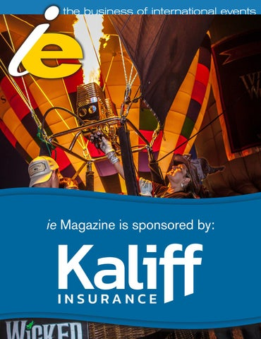 ie volume 30 issue 3 by International Festivals & Events