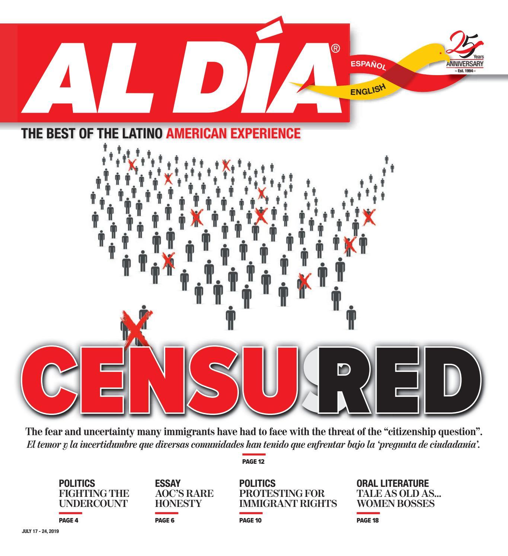Al Dia News Print Edition July 17 24 2019 By Al Día News