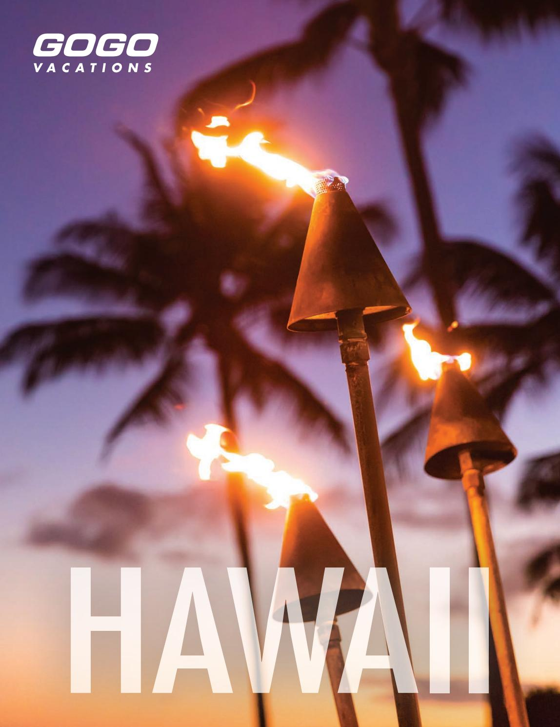 GOGO Vacations | Hawaii by gogovacations - issuu
