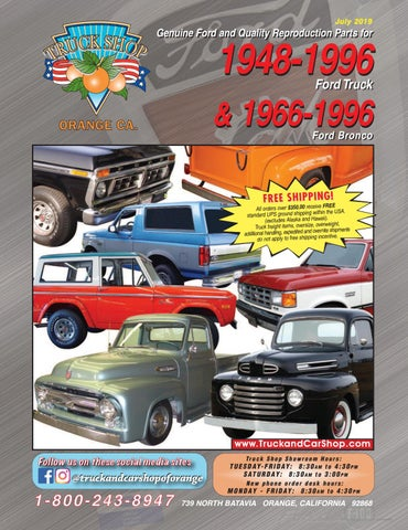 Ford truck bronco 15 by Truck & Car Shop - issuu on