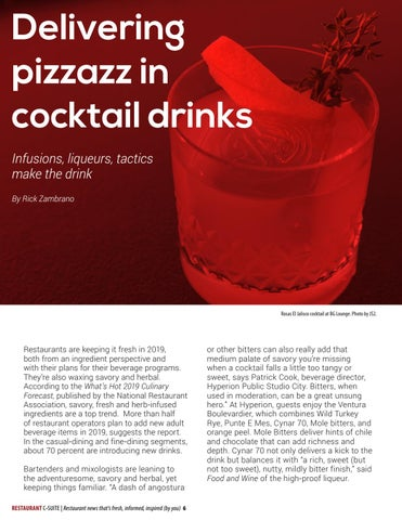 Page 6 of Delivering pizzazz in cocktails