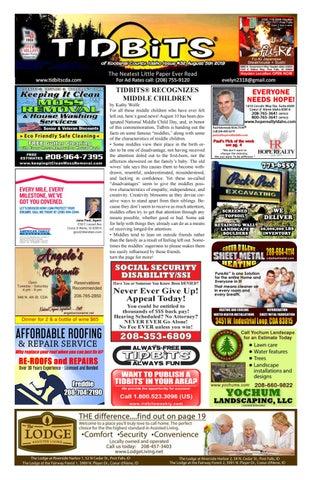 TIDBITS issue 32 CDA IDAHO 2019 by TIDBITS Kootenai County