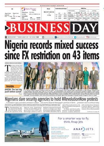 BusinessDay 06 Aug 2019 by BusinessDay - issuu