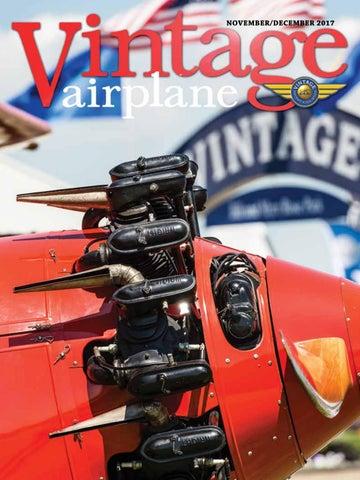 Va vol 45 no 6 nov dec 2017 by EAA Vintage Aircraft