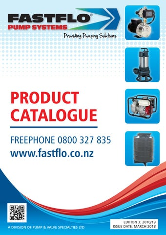 Fastflo Pump Systems Product Catalogue By Websites Made Easy Issuu