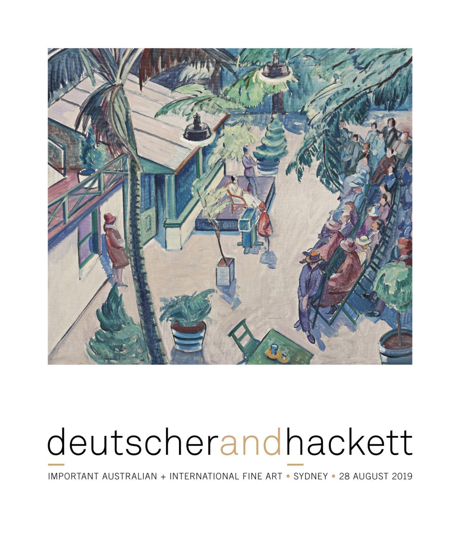 Important Australian International Fine Art By Deutscher And Hackett Issuu