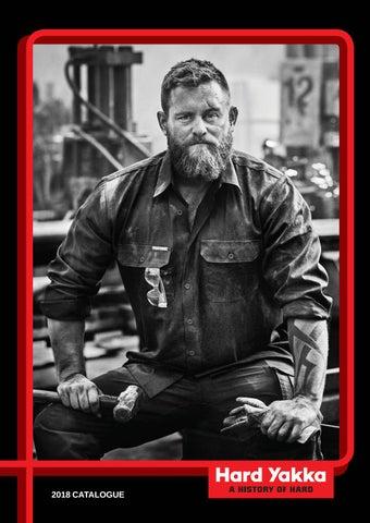 Mens Hard Yakka Genuine Leather Belt Black Gun Metal Buckle Work Tough Y22300