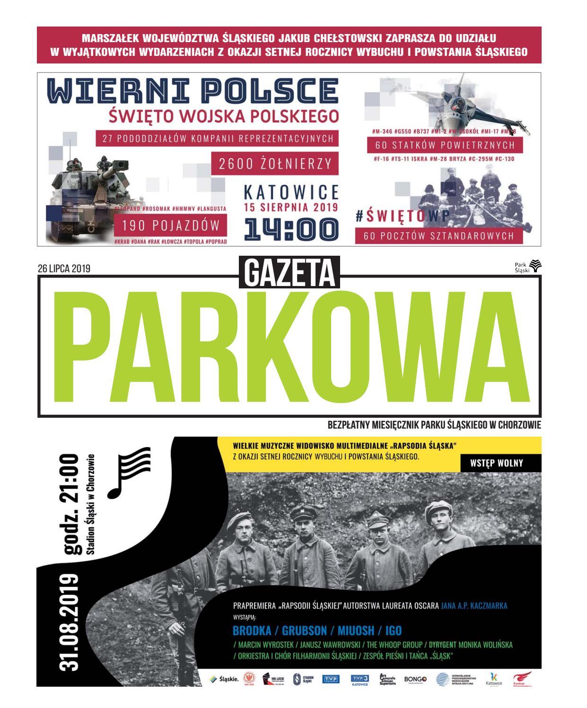 Gazeta Parkowa Lipiec 2019 By Park śląski Issuu