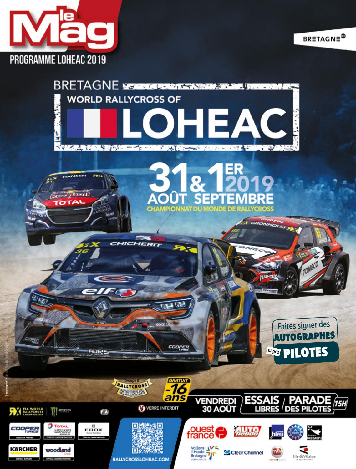Calendrier Autocross Ouest 2020.Rx Loheac Bretagne 2019 Magazin By Patrick Germain Issuu