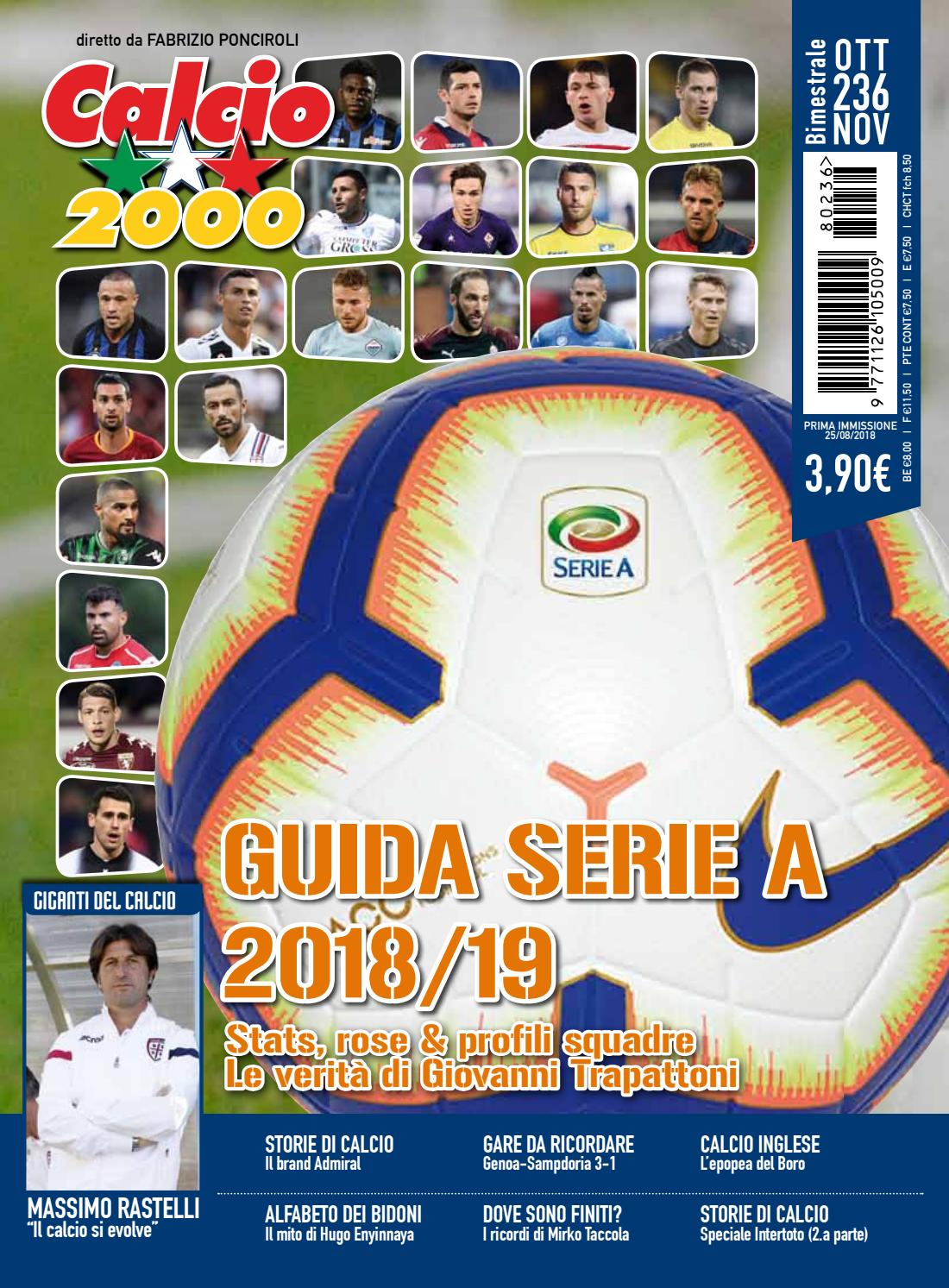 Calcio 2000 N 236 By Tc C Srl Issuu