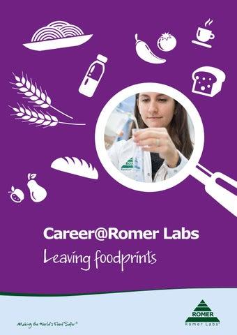 Career Brochure Romer Labs EN by ERBER Group - issuu