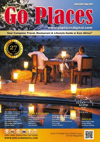 Go Places Magazine Aug Sept 2019 Issue No  167 by