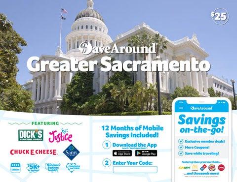 Sacramento, CA by SaveAround - issuu