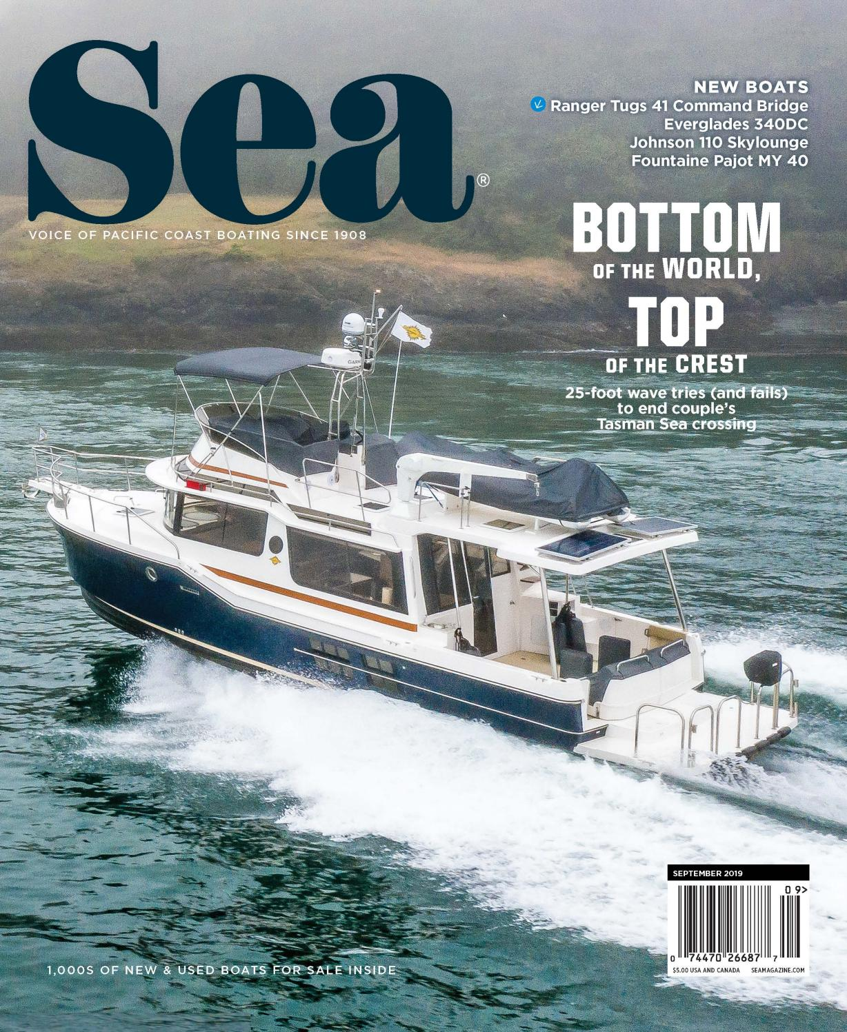 September 2019 Sea Magazine By Duncan Mcintosh Company Issuu