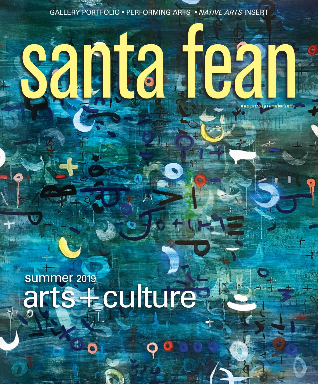 Santa Fean Magazine August/September 2019 | Digital Edition