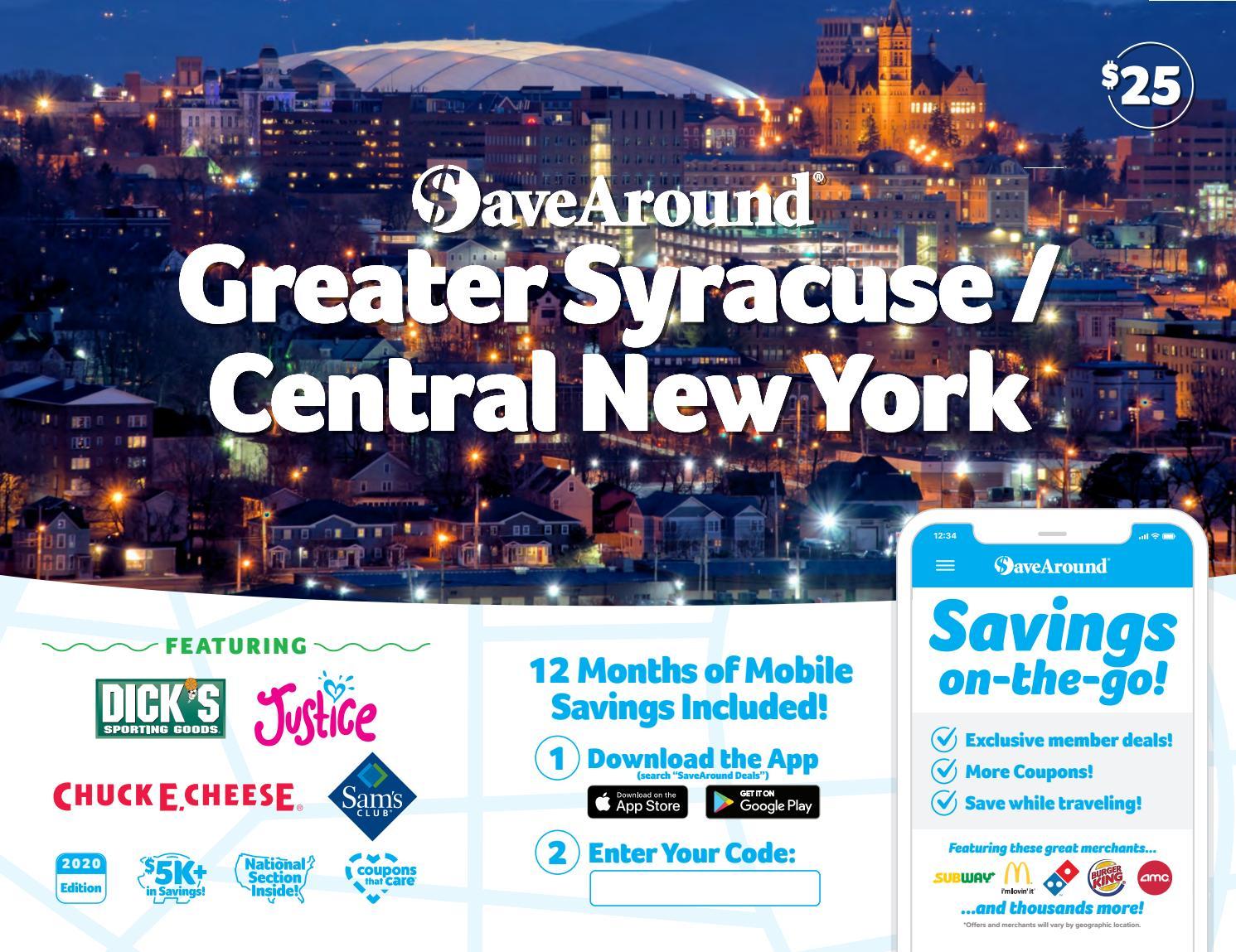 Syracuse NY by SaveAround - issuu