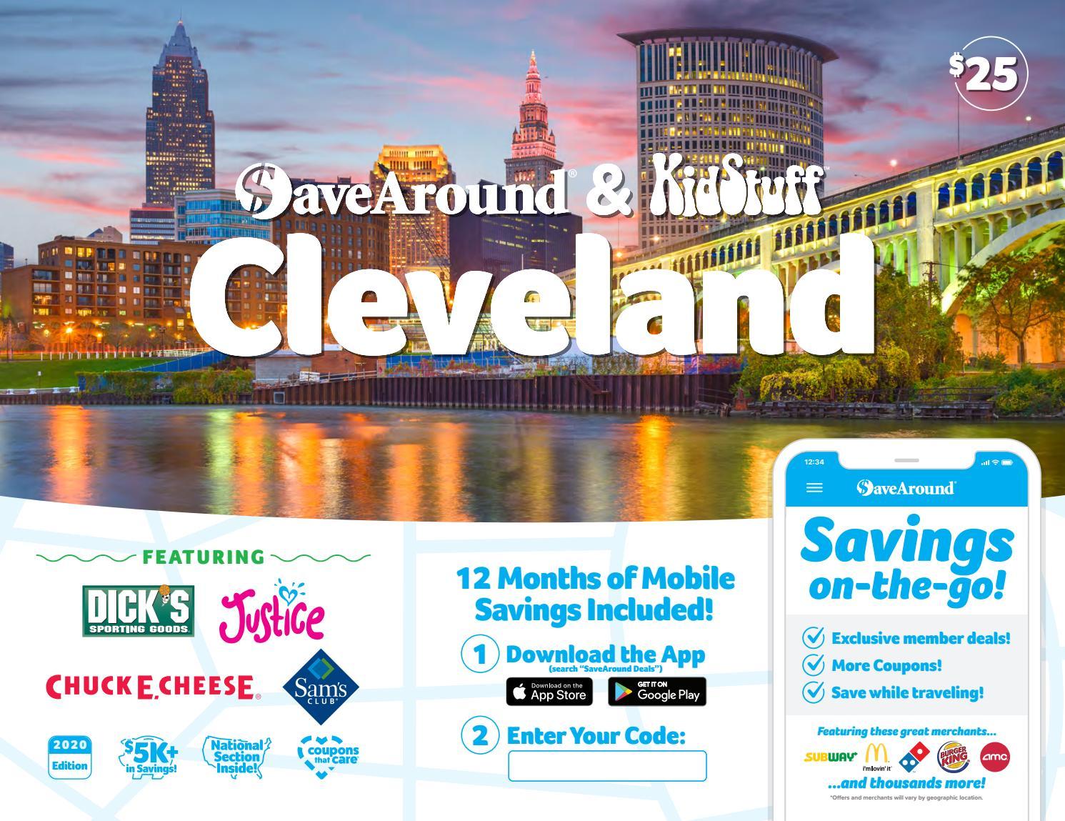 Cleveland OH by SaveAround issuu