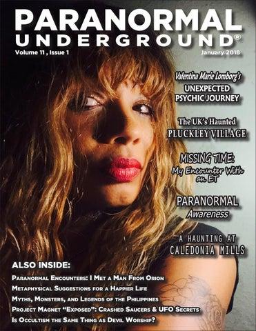 January 2018 Paranormal Underground by Paranormal
