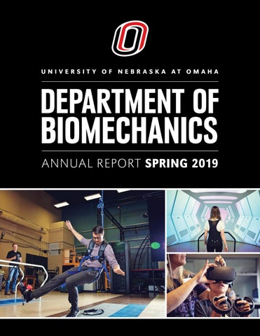 Annual Report Biomechanics University Of Nebraska Omaha