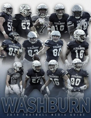 Washburn Athletics - Washburn Ichabod Football Media Guides