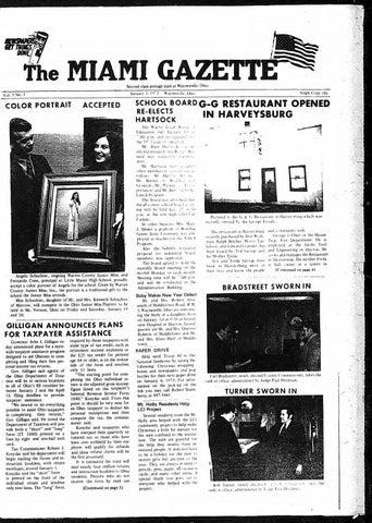 Miami Gazette June 13, 1973 November 27, 1973 by marylcook