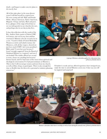 Page 11 of Mission u is a Transformative Event That Every Methodist Should Experience