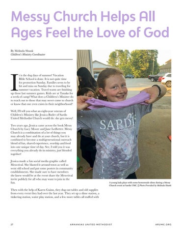 Page 28 of Messy Church Helps All Ages Feel the Love of God